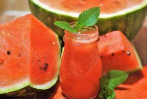 Minty Watermelon Cooler Recipe
