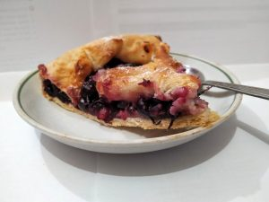 Mixed Berry Crumble Tart Recipe