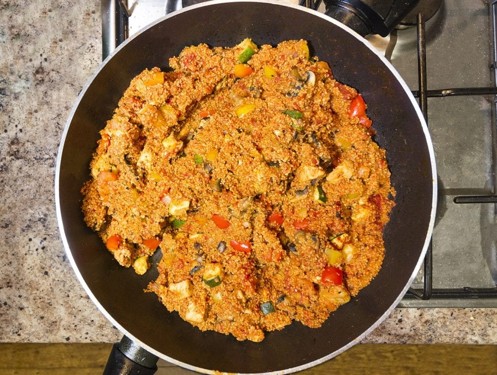 Mom's Rice Cooker Jambalaya Recipe