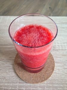 Mongolian Strawberry-Orange Juice Smoothie Recipe