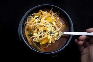 Moosewood Indonesian Sweet Potato and Cabbage Soup Recipe