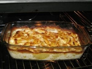 Creamy Mozzarella Potato Bake Recipe