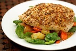 Easy-Honey-Almond-Chicken-recipe-sweettreatsmore.com-main-3