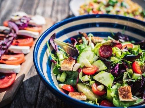 no cook salad meal
