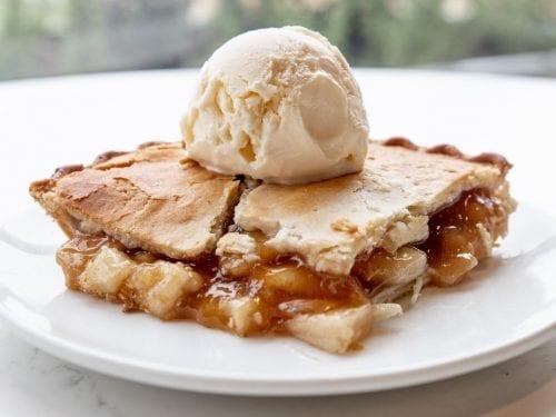 no roll apple pie crust