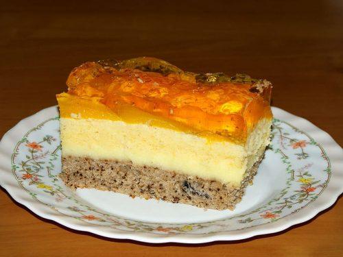 delicious orange dreamsicle jello cake