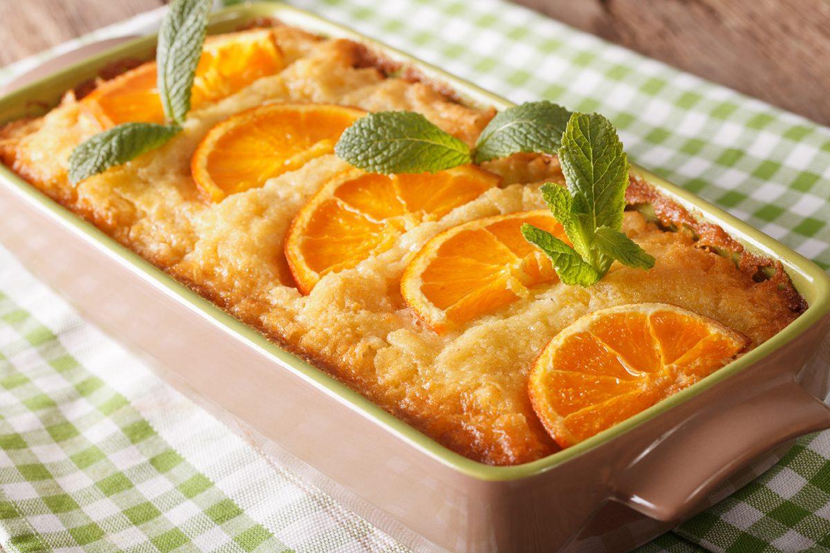 delicious orange greek yogurt cake