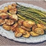 oven roasted red potatoes and asparagus roasted potatoes