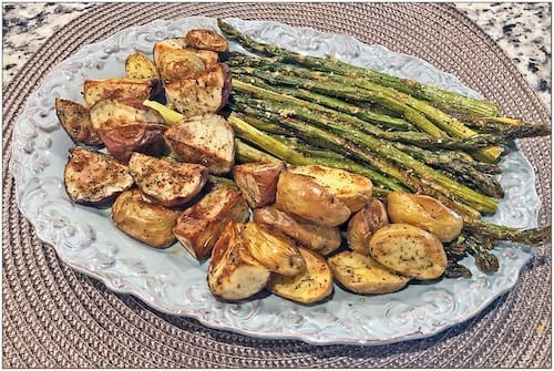Oven Roasted Red Potatoes and Asparagus Recipe
