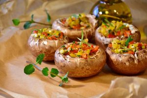 Parmesan Parsley Stuffed Mushrooms Recipe