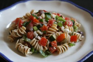Pasta Salad with Fruits Recipe