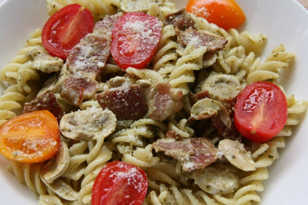 Pasta with Sausage and Tomatoes Recipe