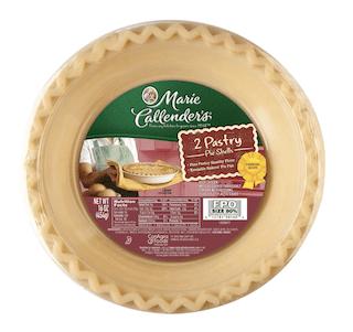 Marie Callender's Frozen Pastry Pie Crusts
