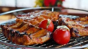 Peach-Glazed Spareribs Recipe