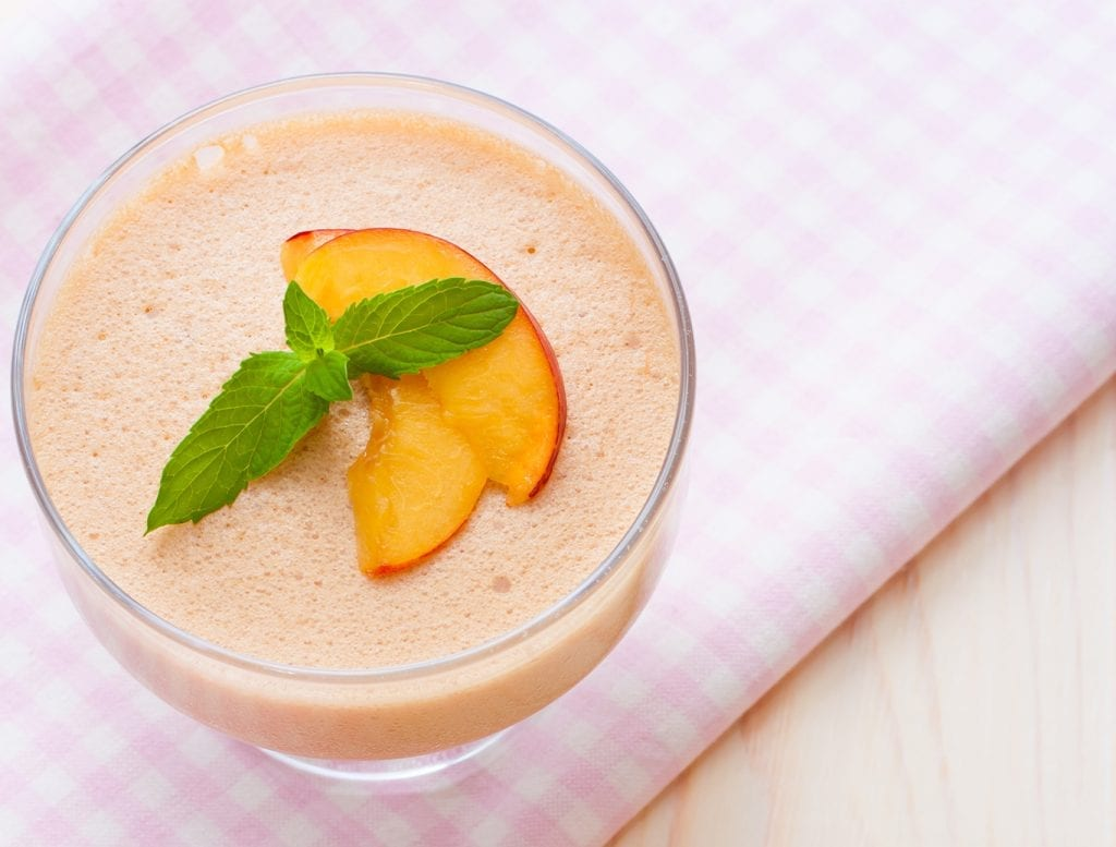 Peach Mousse Recipe