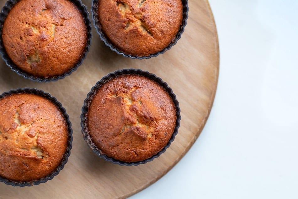 Brown Butter Pumpkin Banana Streusel Muffins || Sweet Treats and More