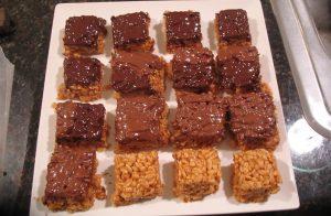 Peanut Butter Rice Krispy Treats Recipe