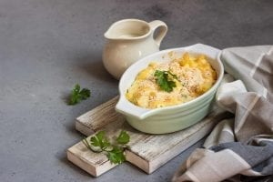 Peas and Macaroni Casserole Recipe