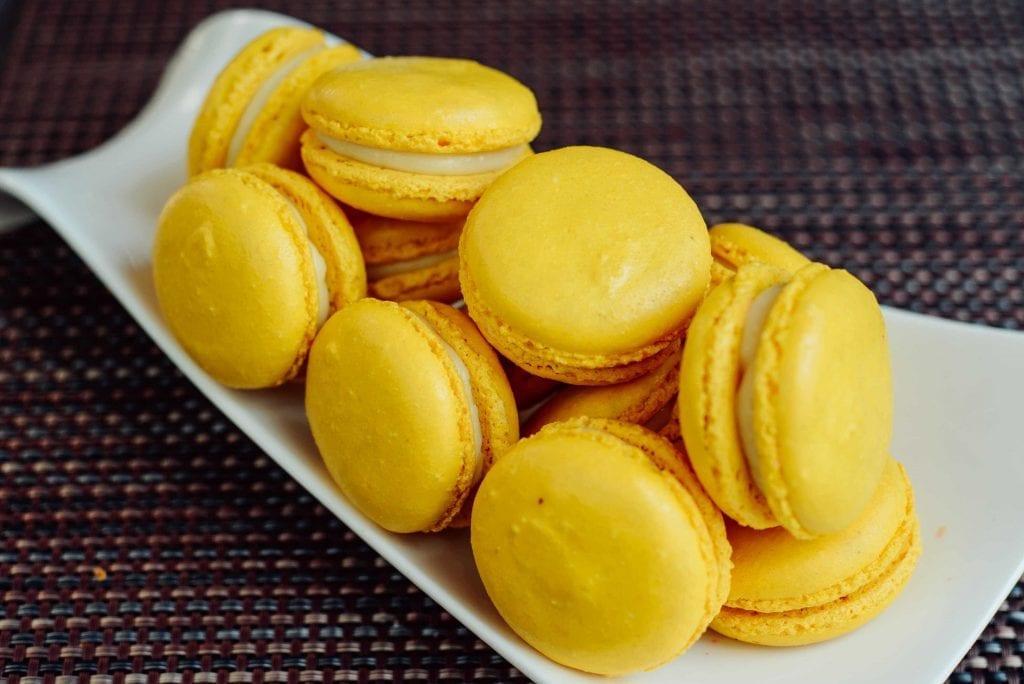 Pineapple Macarons Recipe