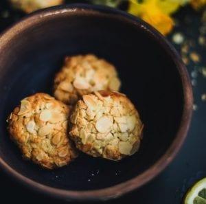 Pistachio Coconut Cookies Recipe