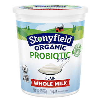 Stonyfield Organic, Whole Milk Plain Yogurt