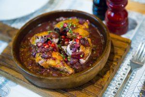 Pomegranate-Walnut Chicken Recipe