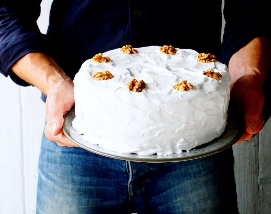 Poor Man's Cake with Whipped Cream Frosting Recipe
