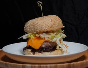 Fennel & Apple Slaw Pork Burger Recipe