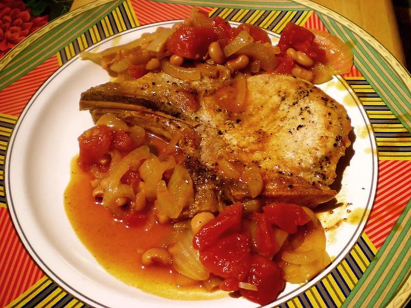 Pork Chop a la Tomato Recipe