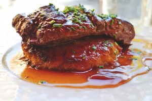 Pork Loin Chops with Apple Cider Sauce Recipe