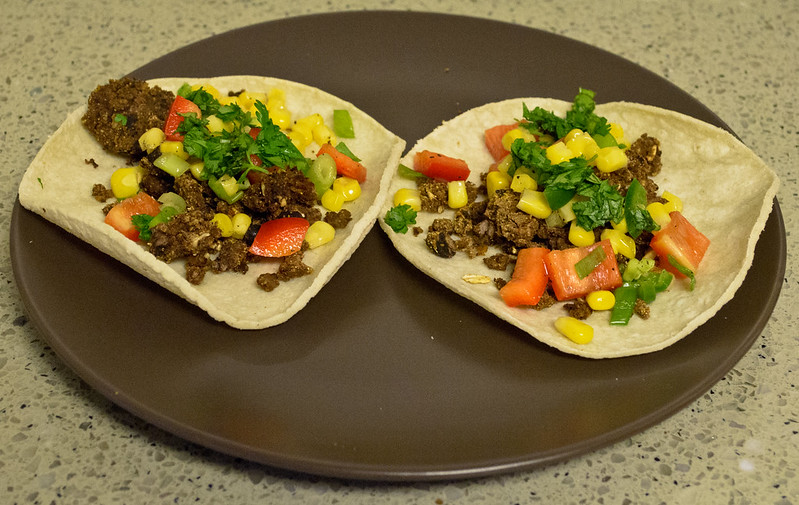 Pork Tacos with Corn and Black Bean Salsa Recipe
