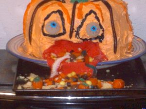 Pukin' Pumpkin Cake Recipe