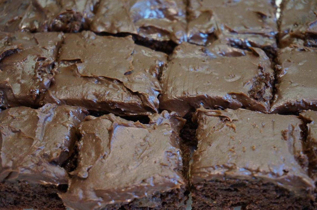 fudgey easy brownies