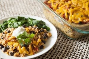 Quinoa and Black Bean Casserole Recipe