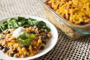 Quinoa and Black Bean Casserole Recipe