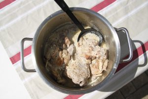 Rabbit in White Wine Sauce Recipe