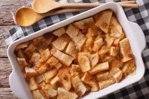 Raisin Cinnamon Bread Pudding Recipe