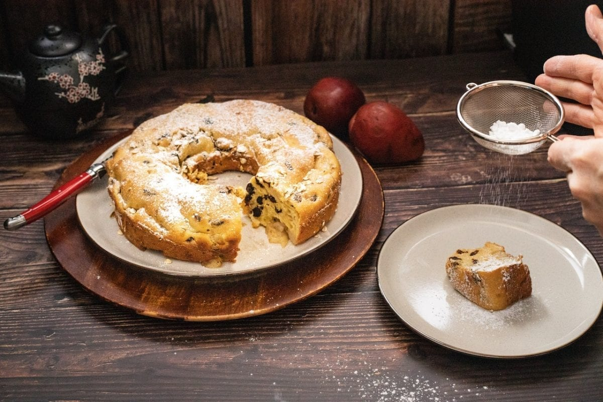 Raisin Pound Cake Recipe