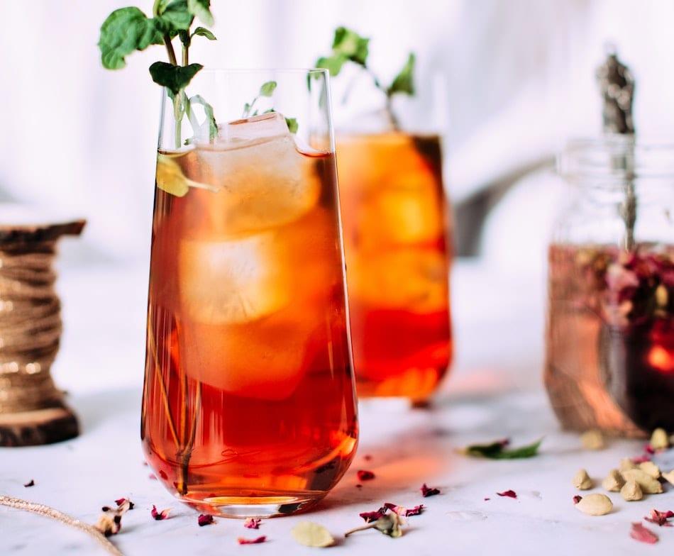 Iced Rose Petal Tea Recipe