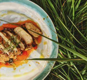 Rosemary Chicken with Orange-Maple Glaze Recipe