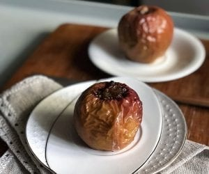 Rum Raisin Baked Apples Recipe