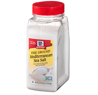 McCormick Fine Mediterranean Sea Salt