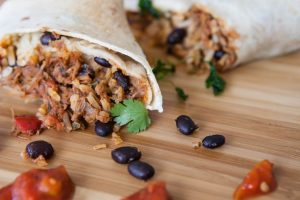 Sausage and Black Bean Burritos Recipe