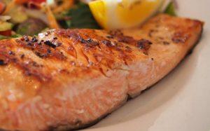 Seared Salmon with Orange Glaze Recipe