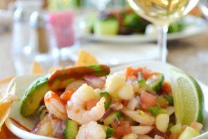 Shrimp, Avocado, Cilantro Dip Recipe