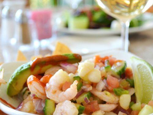 shrimp avocado cilantro dip