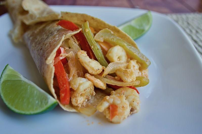 Shrimp Fajitas Recipe