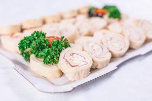 Shrimp Pinwheel Sandwiches Recipe