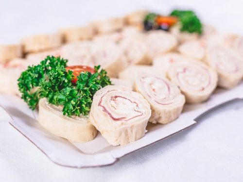 shrimp pinwheel sandwiches