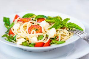 "Simple ""Italian"" Spaghetti Salad Recipe"